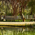 Moore Farms Pond by Bill Barber