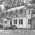 Moore House In Yorktown Virginia by Stephany Elsworth
