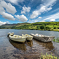 Moored Boats  by Adrian Evans