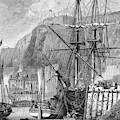 Moored Ships At Fort Regent,  St by Mary Evans Picture Library