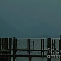 Moorings Derwent Water Cumbria 2002 by Simon Kennedy