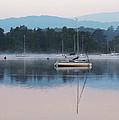 Moorings On Windermere by Susan Tinsley
