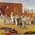 Moorish Procession by Jean Joseph Benjamin Constant