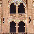 Moorish Windows Madrid by James Brunker