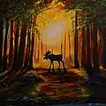 Moose Hideout by Leslie Allen