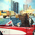 Moose Rapids Il by LeAnne Sowa