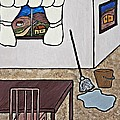 Essence Of Home - Mop And Bucket by Sheryl Young