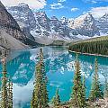 Moraine Lake - Banff National Park - Canada by Steve Lagreca