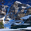 Moraine Lake Reflection Abstract by Stuart Litoff
