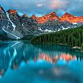 Moraine Lake Sunrise by James Wheeler