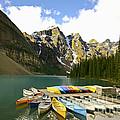 Moraine Lake by Teresa Zieba