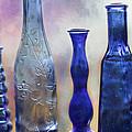 More Cobalt Blue Bottles by Sabrina L Ryan
