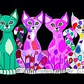 More Colorful Kitties by Nick Gustafson