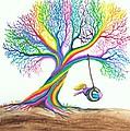 More Rainbow Tree Dreams by Nick Gustafson
