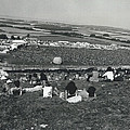 More Than 100,000 Fans Attend The Isle Of Wight Pop by Retro Images Archive