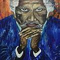 Morgan Freeman by Lettie Atkins