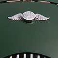 Morgan Plus 4 Hood Badge by Roger Mullenhour