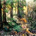 Moring Hike by Sherry Shipley