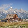 Mormon Barn 2 by Marty Koch