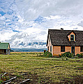 Mormon Row Historic District In Grand Tetons National Park-wyoming by Ruth Hager