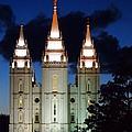 Mormon Temple Lds Utah by Jennifer Craft