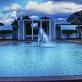 Mormon Temple Oahu Hawaii by Wayne Wood