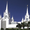 Mormon Temple by Paul W Faust -  Impressions of Light