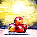 Morning Apples by Maria Leah Comillas