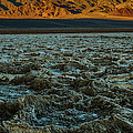 Morning At Badwater by George Buxbaum