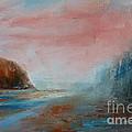 Morning At The  Beach by Pusita Gibbs