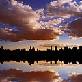 Morning At The Reservoir New York City Usa by Sabine Jacobs