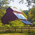 Morning Barn by Jill Brooks
