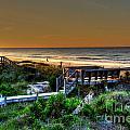 Morning Beach by Aaron  Shortt
