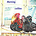 I Love My Morning Coffee Time With My Darling  by Hilde Widerberg