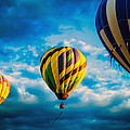 Morning Flight Hot Air Balloons by Bob Orsillo