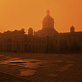 Morning Glow Over City Hall by Jim Vance