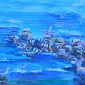 Morning Gulls by Sandra Garrigan