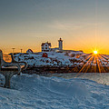 Morning Light At Nubble Lighthouse by Bryan Xavier