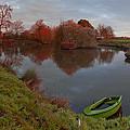 Morning Light Lenton Fishing Pond by Nick Atkin