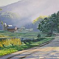 Morning Mist by Kenneth Young
