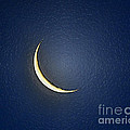 Morning Moon Textured by Al Powell Photography USA