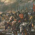 Morning Of The Battle Of Agincourt, 25th October 1415, 1884 Oil On Canvas by Sir John Gilbert