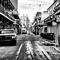 Morning On Bourbon Street by John Rizzuto