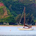 Morning On Hanalei Bay by Mary Deal