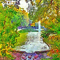 Mirror Lake. The Ohio State University by Digital Photographic Arts
