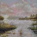 Morning On The Lake by Zbynek Jablonecky