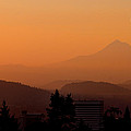 Morning Over Portland by Don Schwartz
