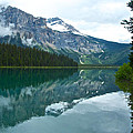 Morning Reflection In Emerald Lake In Yoho National Park-british Columbia-canada by Ruth Hager