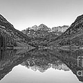 Morning Reflections Bw by Michael Ver Sprill
