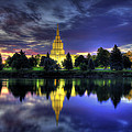 Morning Reflections Of Idaho Falls Temple  by Ryan Smith